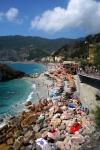 Monterosso al Mare的海滩