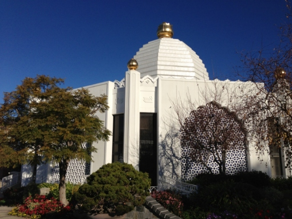 Lake Shrine Temple是纯白的莲花,含苞待放。