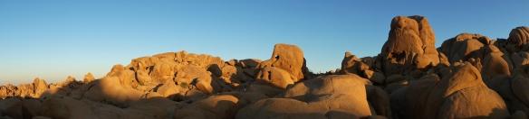 "Joshua Tree National Park日落""大象石"""
