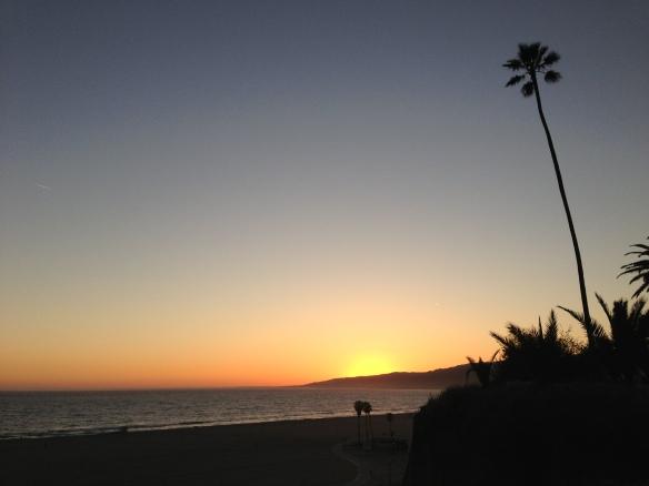 日落 2013.04.10. Santa Monica
