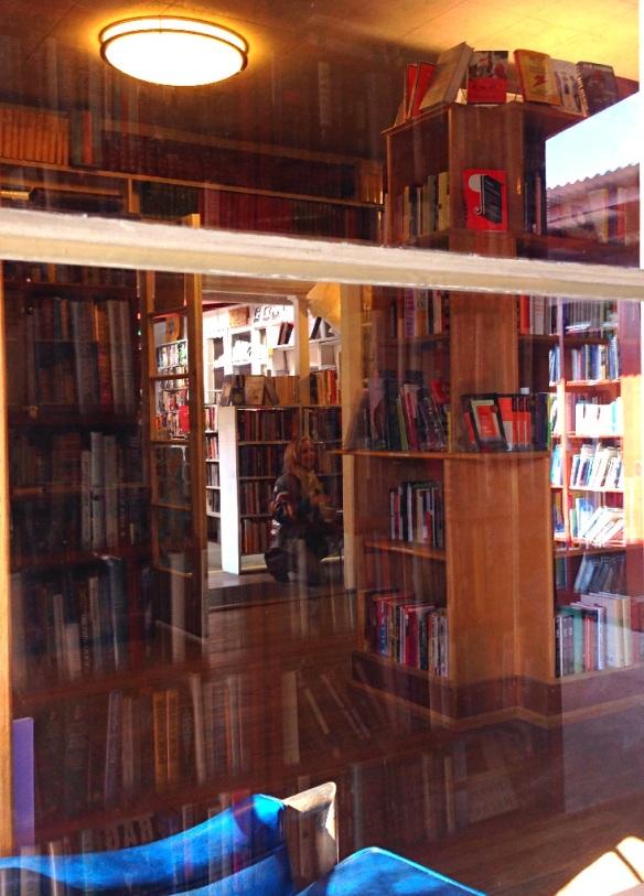 旧书店里@Bart's Books, Ojai CA