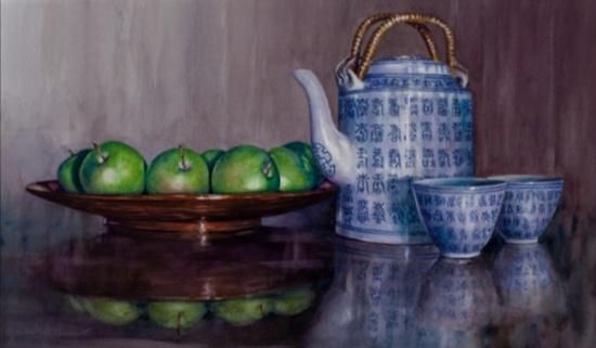 Gail Faulkner_Green Tea