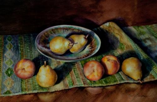 Gail Faulkner_Peaches and Pears